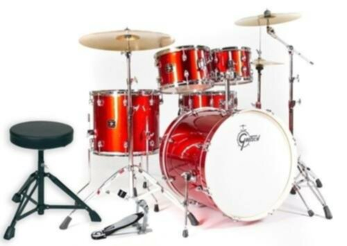 Gretsch Drums DRUM-SET ENERGY ROUGE FUSION - Image principale
