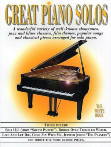 Wise Publications Great Piano Solos - The White Book - Image principale