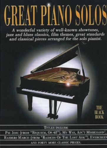 Wise Publications Great Piano Solos - The Black Book - Image principale