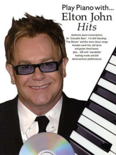 Wise Publications Play Piano With Elton John Hits - Image principale