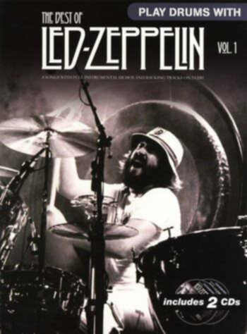 Wise Publications Led Zeppelin - Play Drums With... The Best Of Led Zeppelin Volume 1 - Image principale