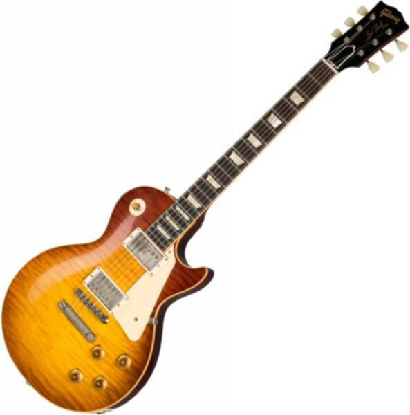 Gibson Custom Shop 60th Anniversary 1959 Les Paul Standard (Bolivian RW) - vos orange sunset fade - Image principale