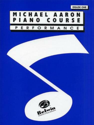 Belwin Aaron Piano Course: Performance Grade 1 - Image principale