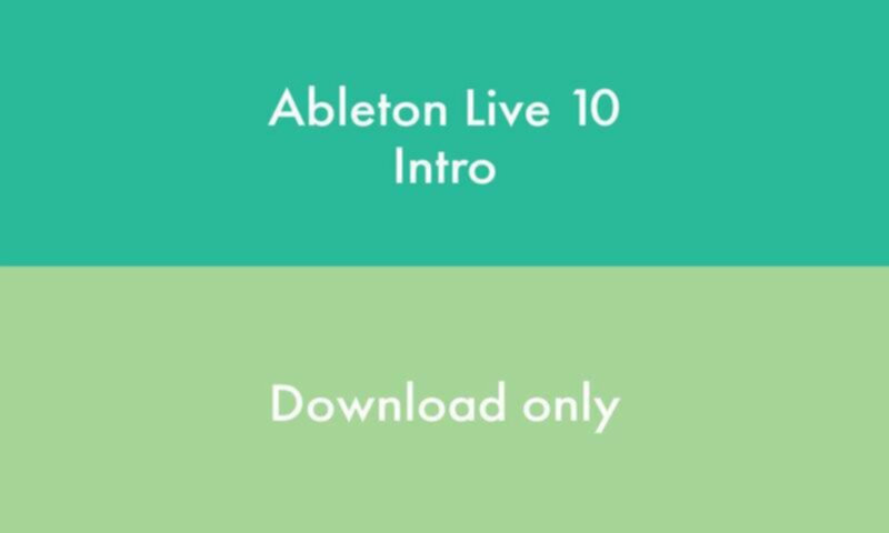 Ableton Live 10 INTRO - Version téléchargement - Image principale