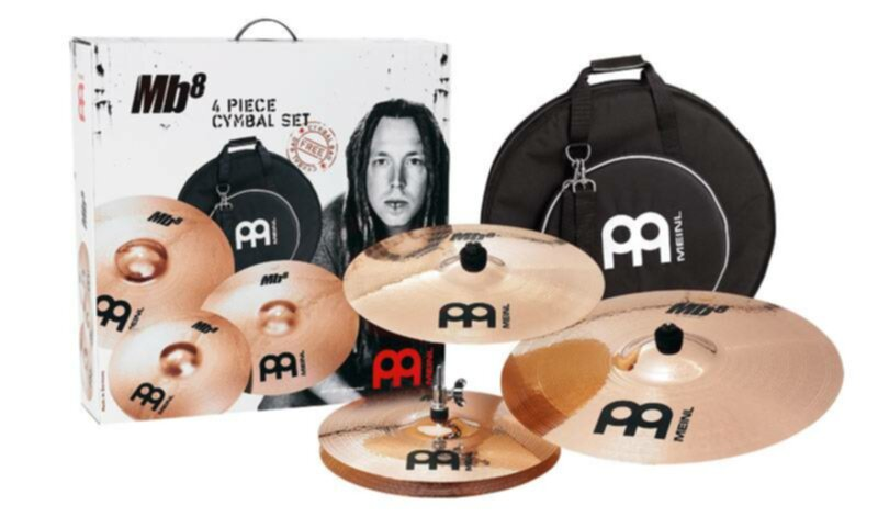 Meinl Cymbales PACK CYMBALES MB8-141822 - Image principale