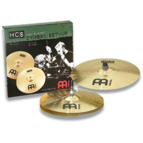 Meinl Cymbales PACK CYMBALES MEINL HCS - Image principale
