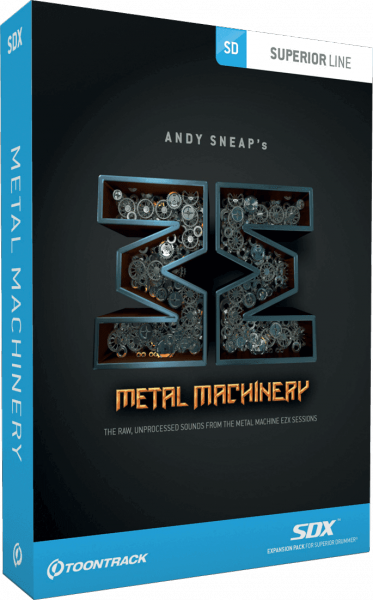 ToonTrack METAL MACHINERY SDX - Image principale