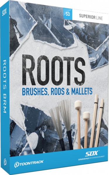 ToonTrack ROOTS BRUSHES - Image principale