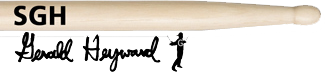 Vic Firth BAGUETTES SGH Gerald Heyward - Image principale