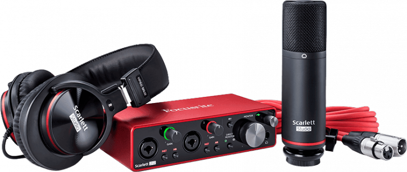 Focusrite INTERFACE AUDIO SCARLETT3-STUDIO - Image principale