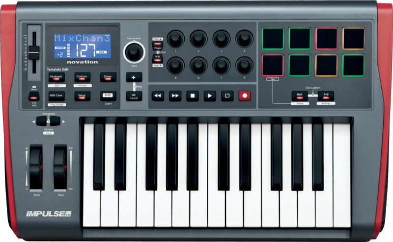 Novation IMPULSE-25 - Image principale