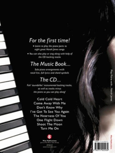 Norah Jones Come Away With Me Pvg Partitions Pour Piano Chant