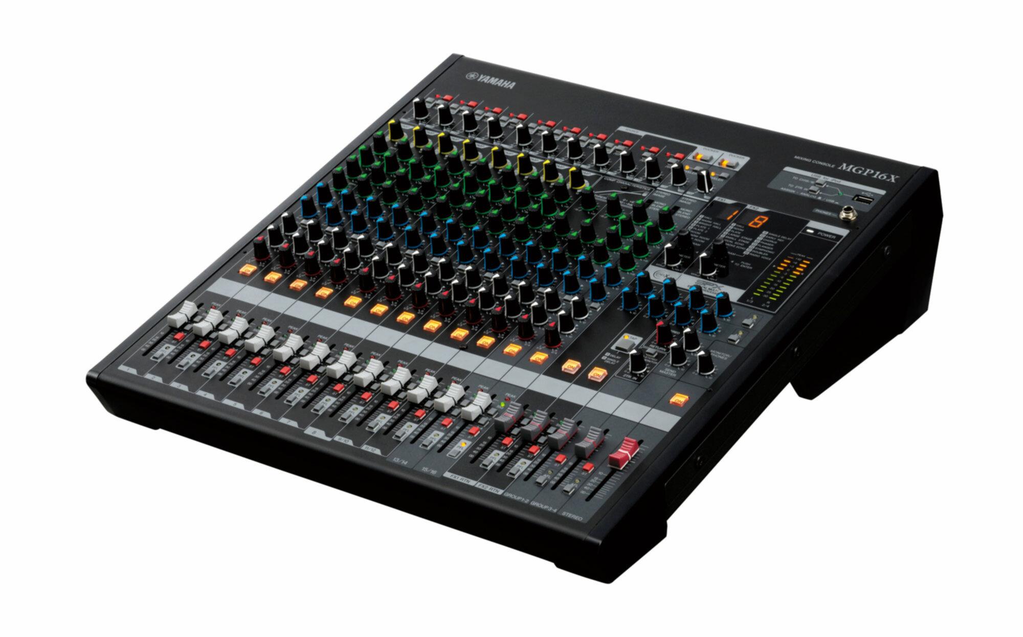 Yamaha mgp16x 749 00 tables de mixage analogique guitare piano batterie basse for Table yamaha