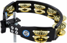 Latin Percussion TAMBOURIN CYMBALETTES CUIVRE MARTELE - A FIXER