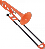 Coolwind CTB-200OG Orange Trombone Sib